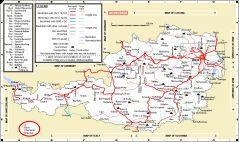maps - Austrian network