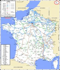 Map Of France In English.Maps French Network