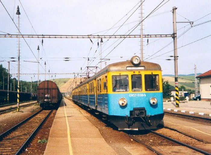 PKP DMU at Plavec